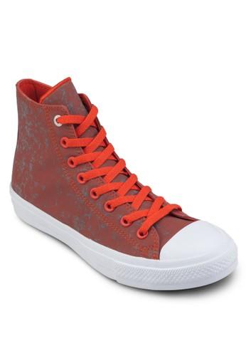 Chuck Taylor All esprit 京站Star II 水洗反光高筒休閒鞋, 女鞋, 鞋
