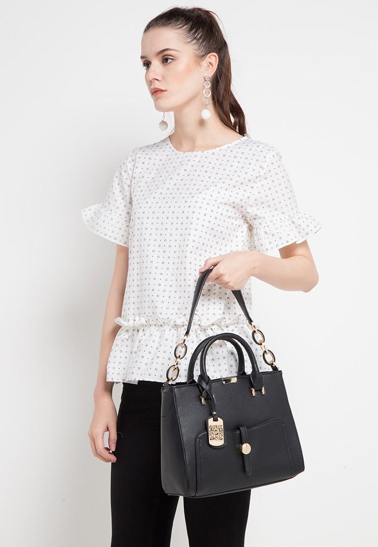 BELLEZZA black Handbag CB935ACC6FC5E1GS_6