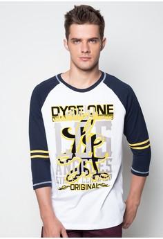 Raglan Quarter Sleeves T-shirt