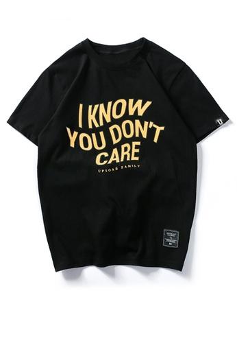 HAPPY FRIDAYS Trend Printed Short Sleeve T-shirt UP717 89B36AA37409F9GS_1