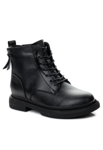 Twenty Eight Shoes Double Zipper Leather Boot CB778 E860CSHF40F52BGS_1