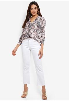 b6e4efb476e 15% OFF Wallis Blush Snake Print Shirt RM 229.00 NOW RM 194.90 Sizes 8 10  12 14 16
