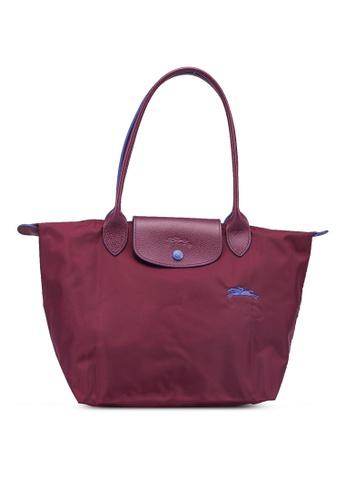 LONGCHAMP purple Le Pliage Club S Tote Bag (zt) 166F0AC9ABF2DEGS_1