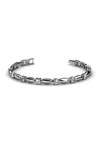Her Jewellery silver Hope Bracelet - Licensed Genuine Crystals from Swarovski® HE581AC0RDPTMY_1