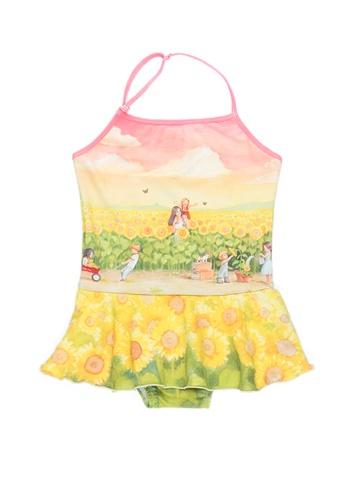 Viva Vida Kids yellow Halter Sunflower 3EA78KACB6ABD5GS_1