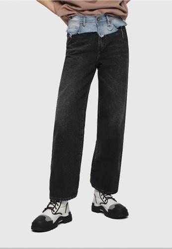 Diesel grey Widee-C Jeans C1332AA6B8C546GS_1