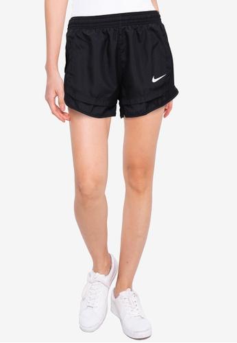 Nike black and grey Tempo Icon Clash Running Shorts E2398AA0FDD4BDGS_1