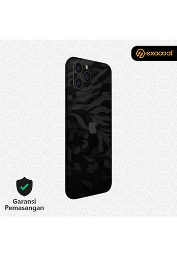 Exacoat iPhone 11 / 11 Pro 3M Skins Camo Series - Black Camo B835DES8A60192GS_1