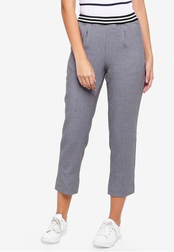 ESPRIT grey Woven Length Service Pants 4FEE5AADB9A288GS_1