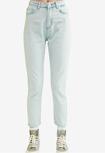 Trendyol green High Waist Mom Jeans CC6B1AA450C47FGS_1