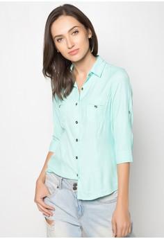 Ladies Basic Longsleeves Shirt