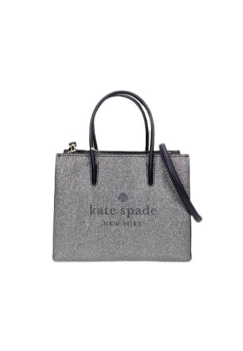 Kate Spade blue Kate Spade Trista Glitter WKR00184 Shopper Bag In DuskNavy 870 789DEAC54F1DF6GS_1