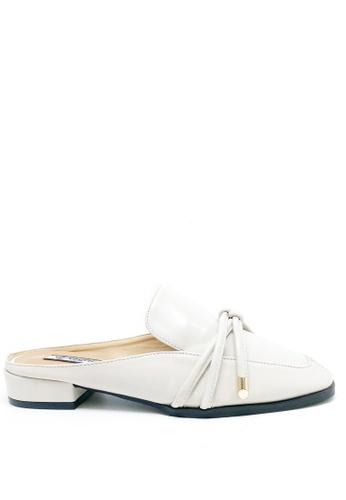 Twenty Eight Shoes white Bow Mules Flats 1388-29 1F2D2SHC837F28GS_1