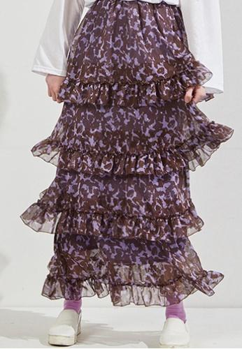 Workwear multi Metal Dot Maxi Skirt WO056AA25FJYSG_1