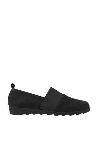 CO BLANC black CO BLANC Slip On Loafers 4C0B6SHC72A83DGS_1