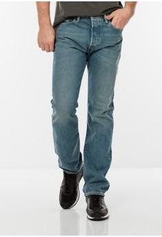 Levi's  Levi's 501 Original Fit Performance Strong Jeans