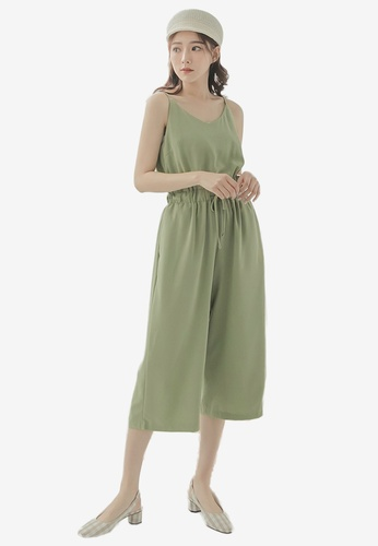 aa734e0688ae Shop Tokichoi Drawstring Waist Cami Jumpsuit Online on ZALORA Philippines