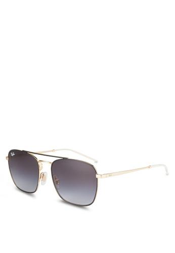 ec30eb81af Buy Ray-Ban RB3588 Square Sunglasses Online on ZALORA Singapore