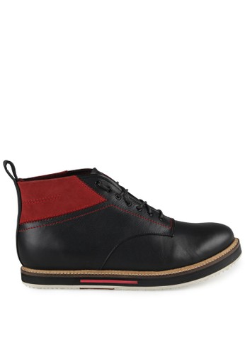 S.Baldo black Jarvis Shoes SB324SH41CZAID_1