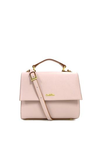 Carlo Rino Pink 0304143a 001 34 Top Handle Bag