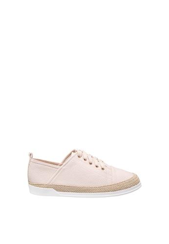 SEMBONIA beige Women Synthetic Leather Sneaker 515C0SH2218D7CGS_1