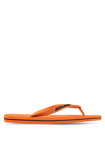 Jack & Jones orange Basic Flip Flops F6901SH9D0439AGS_1