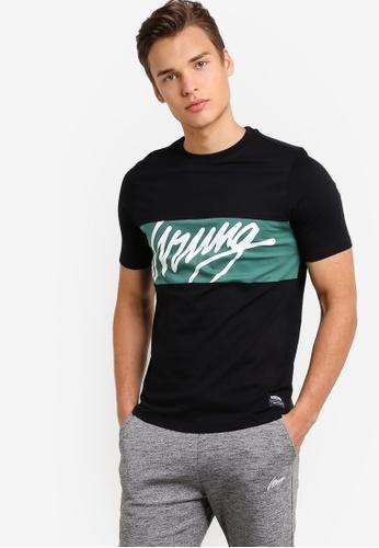 Wrung black Flow T-Shirt WR395AA91MPKMY_1