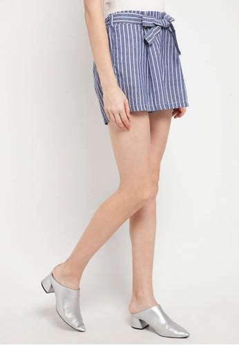 X8 blue Belinda Shorts 5E9ABAAF71B4F6GS_1