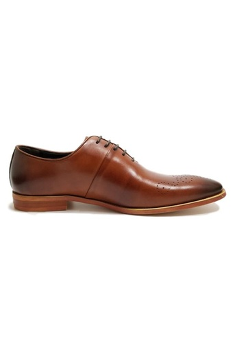 Kings Collection brown Rodrigo Oxford Shoes 08B9ESH3096CDAGS_1