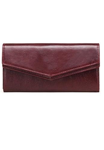 Twenty Eight Shoes Vintage Genuine Leather RFID Security Long Wallet BP892 BEB08AC068BD28GS_1