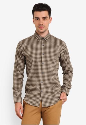 Kent & Crew green Checkered Shirt KE579AA0RJRKMY_1