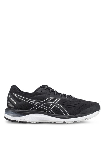 Asics black Gel-Cumulus 20 Shoes 7C97ASHDBC1B53GS_1