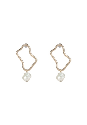niko and ... gold Pendant Earrings 6374CACB89D7D6GS_1