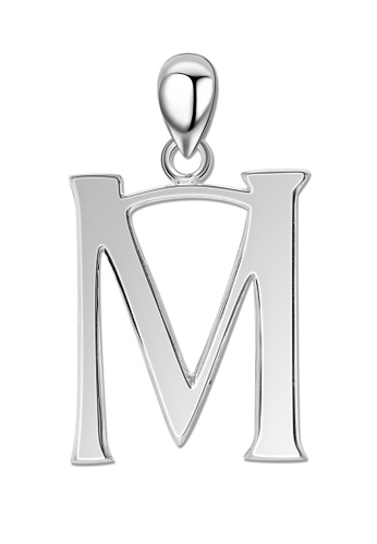 SC Tom Silver silver Letter Pendant SC872AC0J6UUPH_1