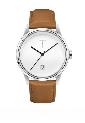 Tylor white and brown Cali Vibe Watch 9098DAC026ABDEGS_1
