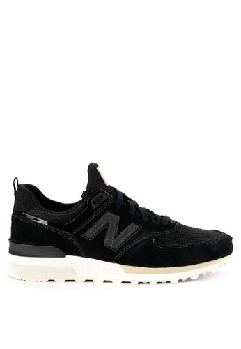 New Balance black 574 Sport D6A41SH36B9572GS_1