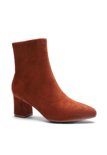 Twenty Eight Shoes Synthetic Suede Ankle Boots 1266-1 C5467SHA8860A9GS_1