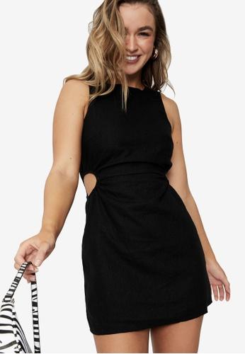 Supre black Mila Cutout Mini Dress 4F5D8AACD5FBD6GS_1