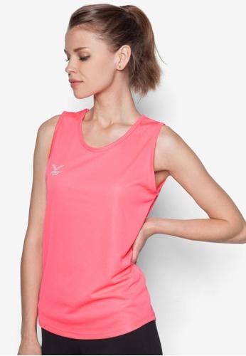 FBT pink Basic Running Singlet FB325AA93OSGSG_1
