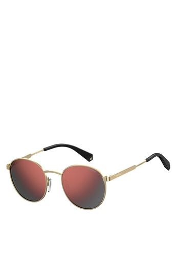 Polaroid gold PLD 2053/S Sunglasses 2B2F8GL072BD6BGS_1