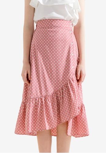 Sesura pink Dance Away Frilly Skirt 1D1E5AAA098860GS_1