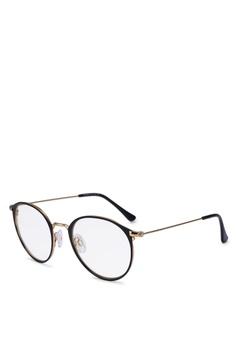 1c89658fd54 Privé Revaux black The Rand Sunglasses 5F8BDGLD1B23C7GS 1