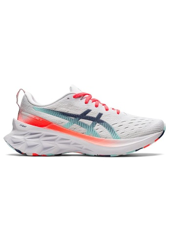 ASICS 拼色 ASICS NOVABLAST 2 跑步鞋 1012B152-960 18B5ESH5B91CE9GS_1