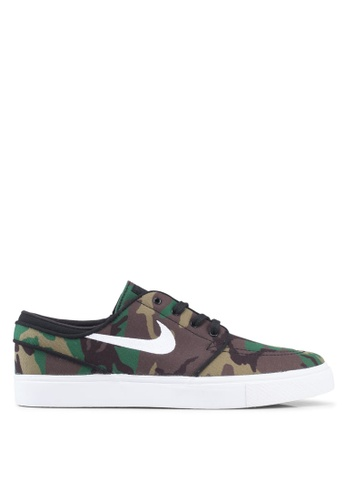 56e308dae88b Nike green and multi Nike Sb Zoom Stefan Janoski Shoes E6E6ESH6766565GS 1