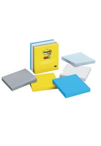 Post-IT 3M Post it Super Sticky Notes -New York Collection [654-5SSNY] FBD76HL61D51DBGS_1