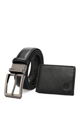 Volkswagen black Genuine Leather RFID Wallet & 35mm Belt FB9BDAC19F0FFBGS_1