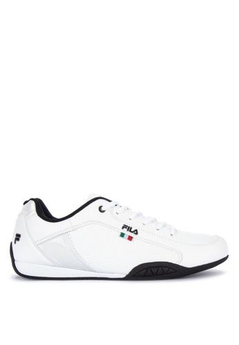 Fila white Mt Shield Sneakers F9E66SH429192AGS_1