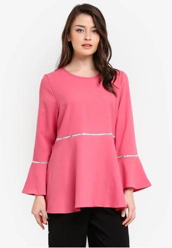 BYN pink Muslimah Blouse BY059AA0S0Y6MY_1