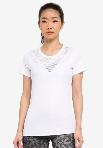 adidas white adidas feminine tee AD372AA0SUFXMY_1