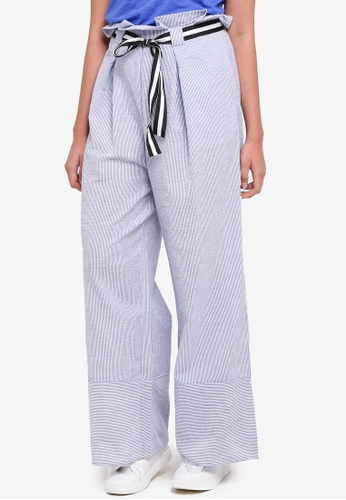 ONLY white Shirt High Waisted Puff Pant 2C444AAA48A665GS_1